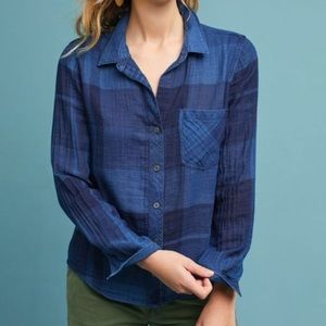 Anthropologie Cloth & Stone Mireille shirt